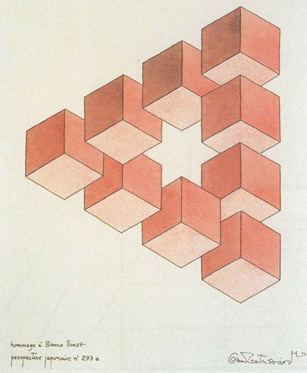 The centre cube removed/4x4x4 triangles are cool too, I like the star in the middle.