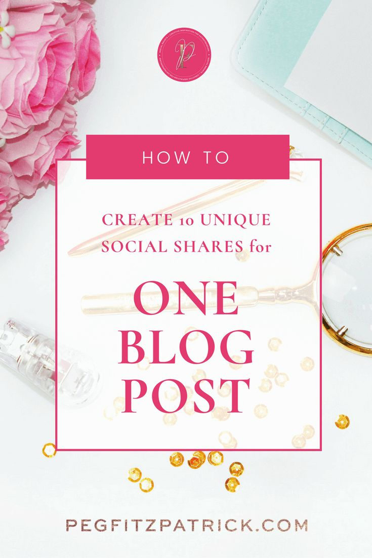 Are you creating one graphic for your blog post and getting zero returns? This post will help generate ideas for unique social shares for your blog posts and bring more website traffic. via @PegFitzpatrick