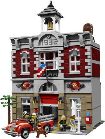 Fire Brigade - Lego City 10197 Shop - Eurotoys - Legetøj online