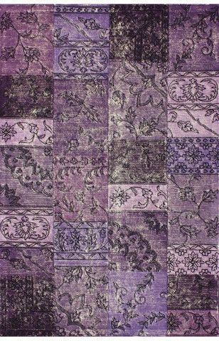 nuloom purple marteen overdyed style tufted area rug rugs