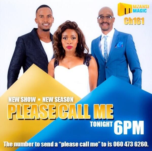 Check out Thembi doing what she does best on Please Call Me.