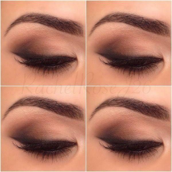 maquillaje de ojos para ojos marrones paso a paso - Buscar con Google