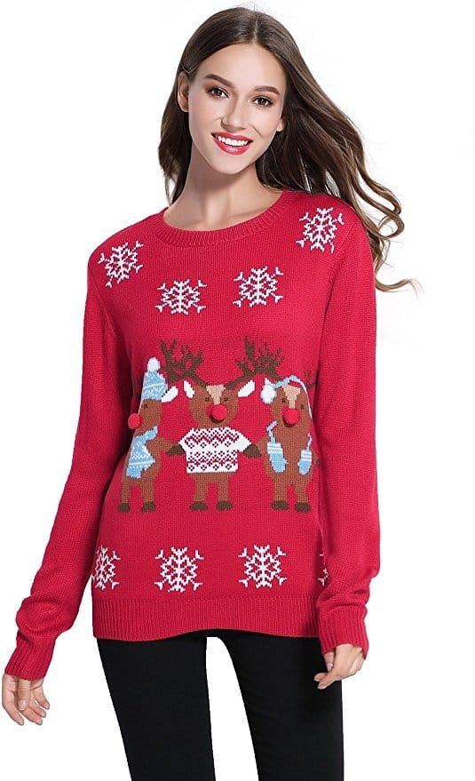 Best Christmas Sweaters 2019 Top 10 Best Christmas Sweaters for Women in 2019   Buyer's Guide