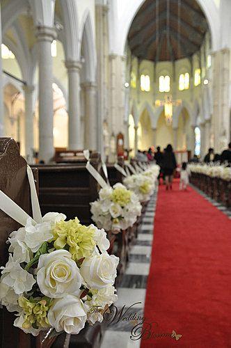 WBCH01f   Blog   教堂佈置 婚禮佈置 Church Decoration Wedding Decoration - Yahoo! Blog