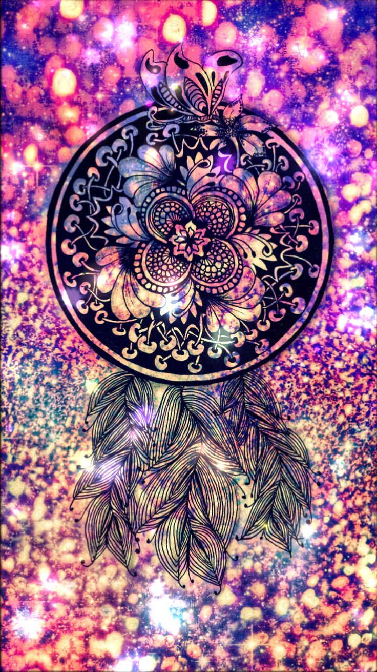 Wallpaper iphone mandala - 2017 Galaxy Dreamcatcher Wallpaper