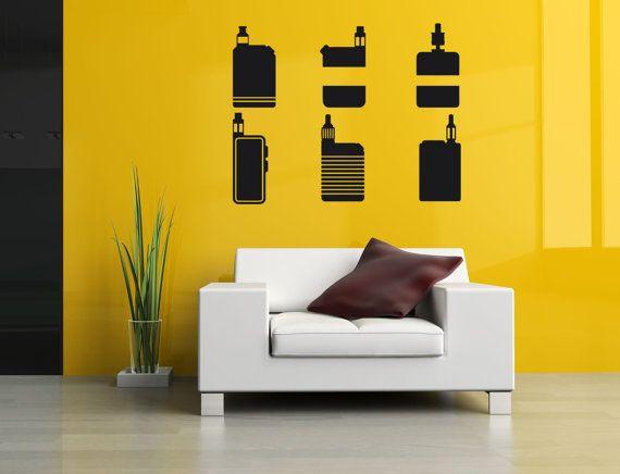 129 best Vinyl Sticker Mural Decal Wall Decor Art Vaporizer Vape ...