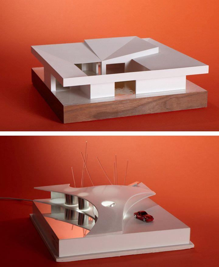 Why i design arkitekcher wallpaper maquetas for Casa minimalista maqueta