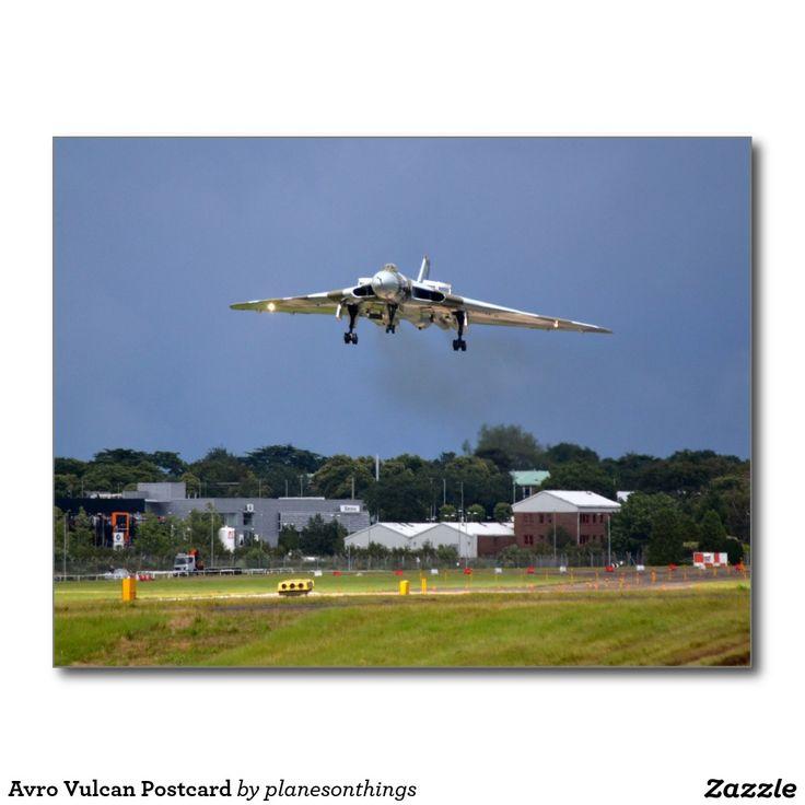 Avro Vulcan Postcard