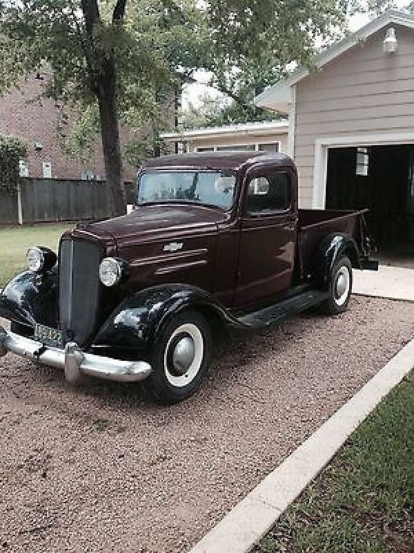 Chevrolet : Other Standard 1936 Chevy Pick Up- original - http://www.legendaryfind.com/carsforsale/chevrolet-other-standard-1936-chevy-pick-up-original-2/