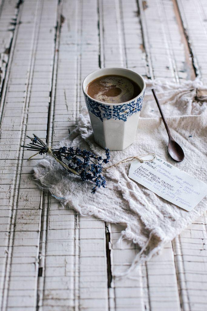 Local Milk | a Recipe for Cornmeal Brown Butter Scones & Lavender Peach Curd + Puro Organic Fair Trade Coffee