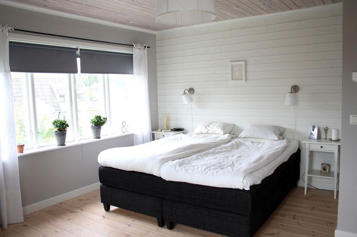 Bildresultat för vit panelvägg sovrum