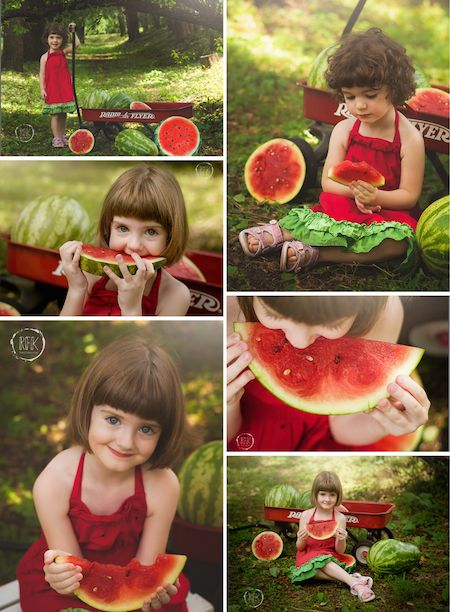 Watermelon Mini Sessions Summer Melon Mini Sessions RFK Photography