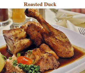 roasted duck - easy to prepare - roast duck recipe