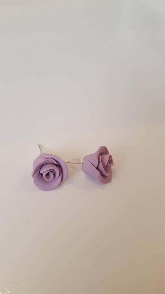Check out this item in my Etsy shop https://www.etsy.com/au/listing/562899198/rose-earrings-purple-rose-earrings-rose