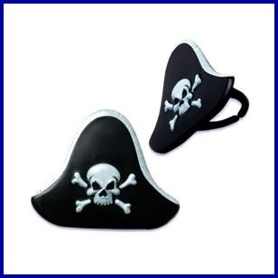 Pirate Cupcake Rings, $.29 Cdn each.