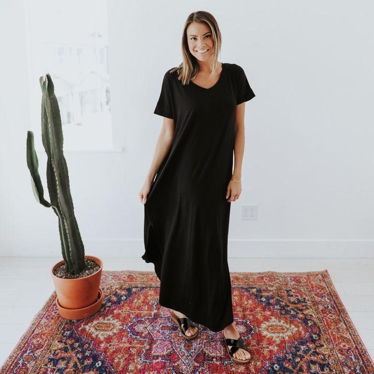 Karina V neck Maxi | Brickyard Buffalo | Daily Boutique