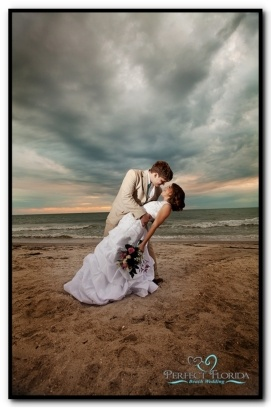 Florida Beach Wedding Photography. Liz I could do this for you and Aaron on the Michigan beach. Maybe