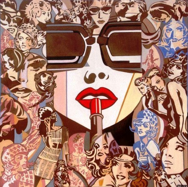 Marc Ferrero (French, born 1963) Lipstick. 2013 г.