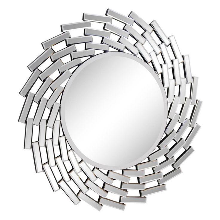 Elegant Furniture & Lighting Modern Wall Mirror - 42 diam. in. - MR-3345