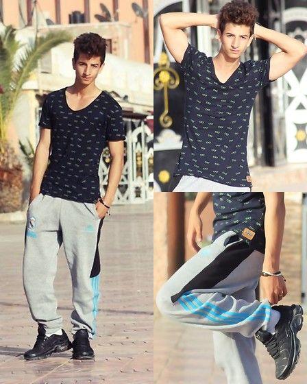Zara Tmp, Pant, Nike Air Max Tn