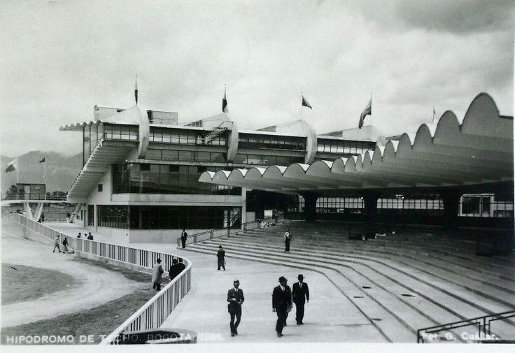 Hipódromo de Techo Bogotá a comienzos de los años 50s