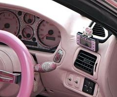 Pink Car Interior