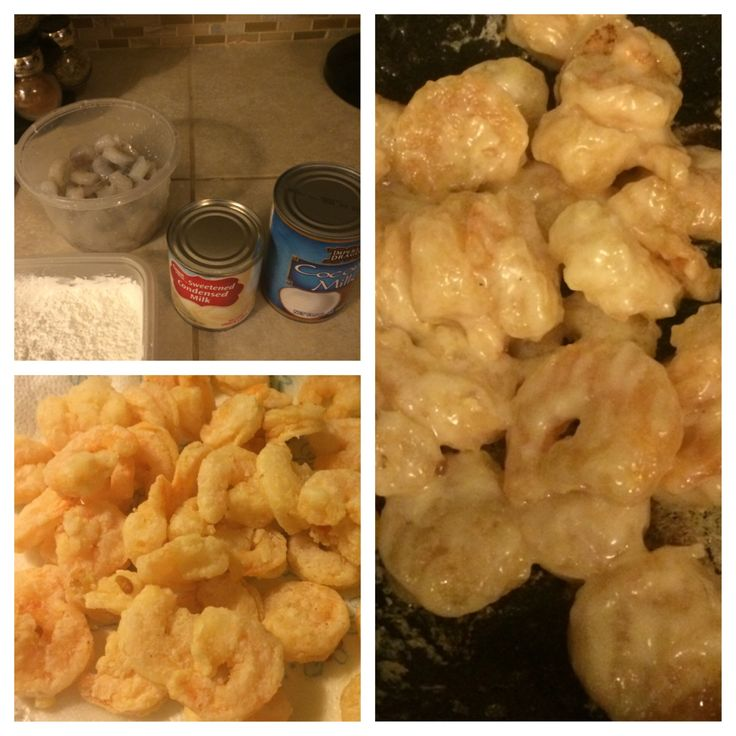 I absolutely love coconut shrimp from Chinese buffets! This recipe is very similar to the one served at my favorite restaurant. 1 bag of small frozen shrimp, thawed 1 C. Cornstarch Vegetable oil fo...