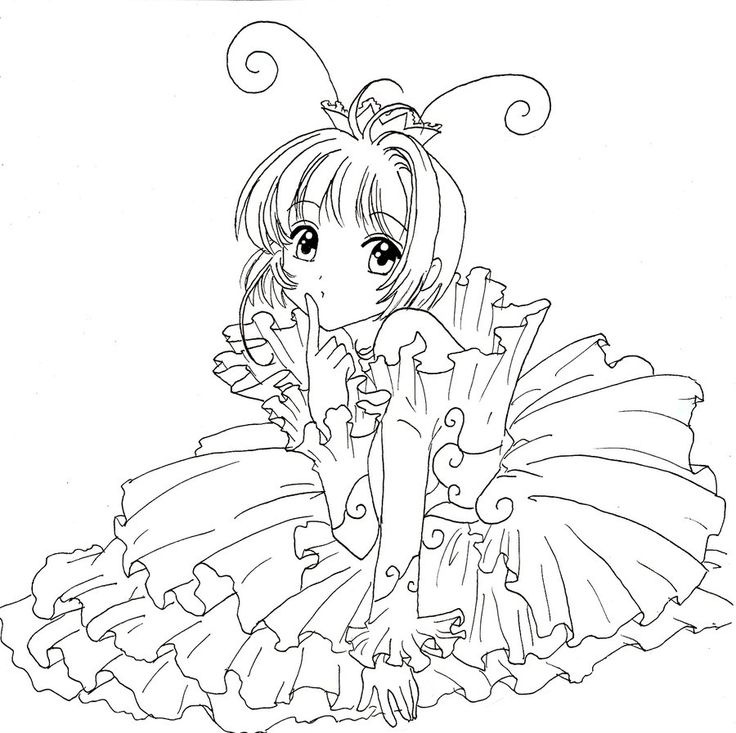 magical fairies coloring pages - photo#8