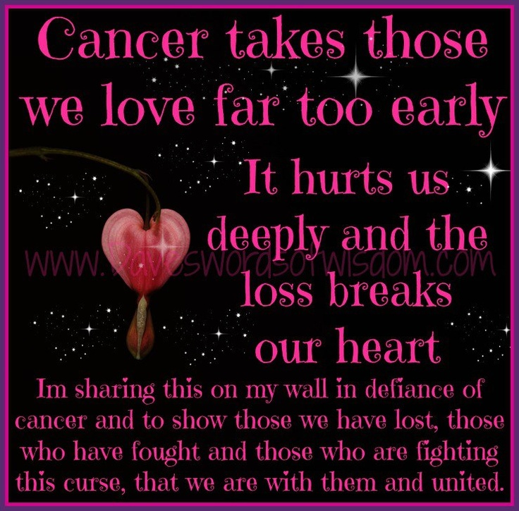 Losing My Mom To Cancer Quotes: 17 Best Images About CANCER SUCKS!! On Pinterest