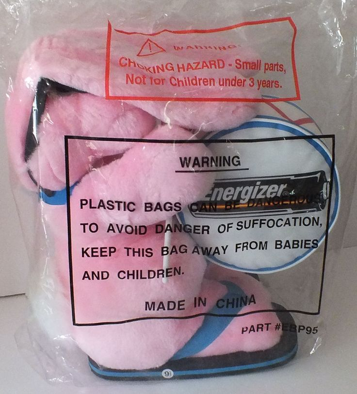 Energizer Bunny 1996 Plush Stuffed Rabbit 23'' Drum Sunglasses Flip Flops NEW #EnergiserBatteries