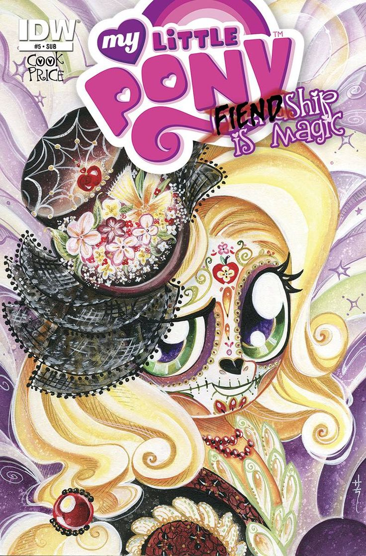 Fiendship is Magic #5 (Queen Chrysalis) Comic Subscription Cover