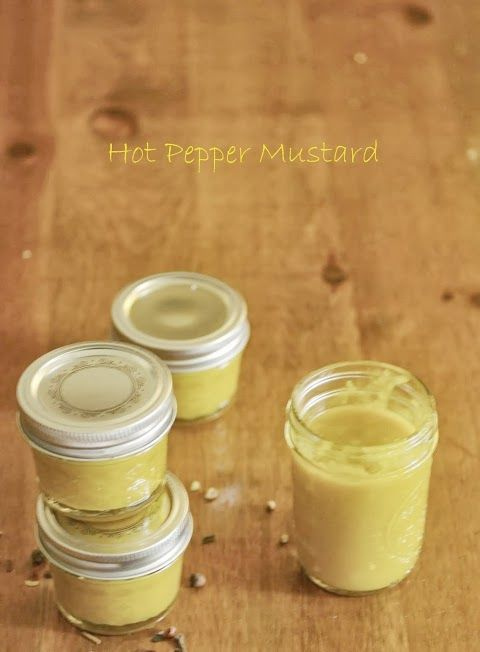 Banana Pepper Honey Mustard http://www.mycatholickitchen.com/2013/08/banana-pepper-honey-mustard.html