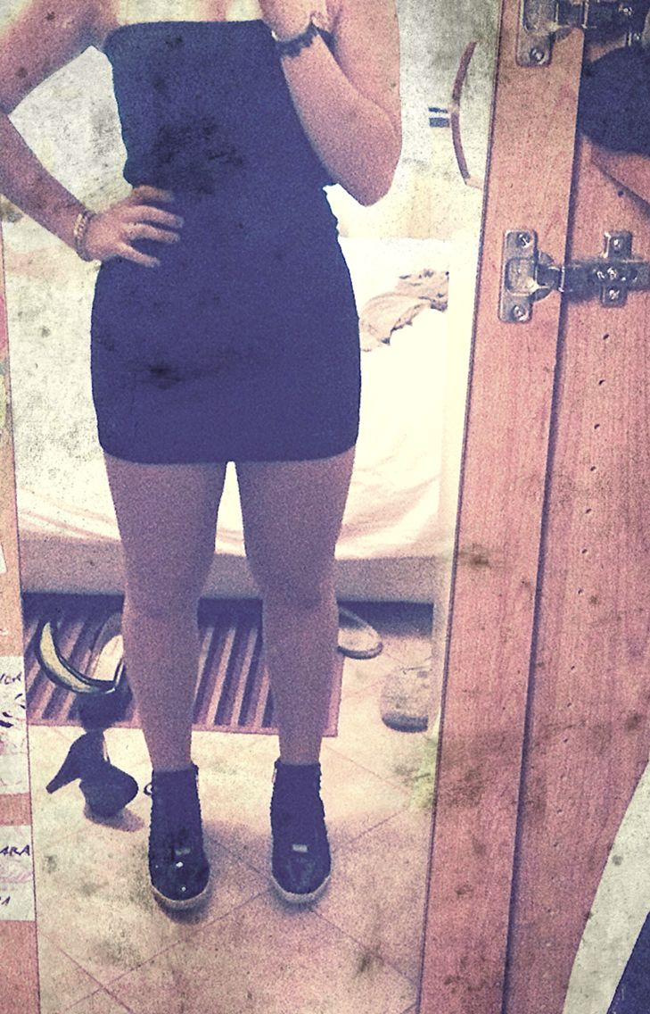 Me and my black dress ! Cool ❤️