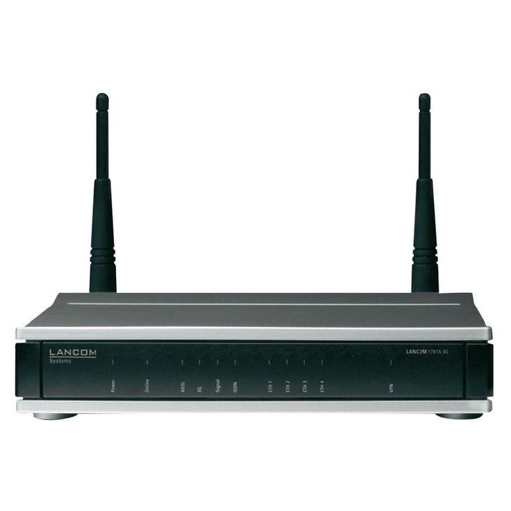 LAN-Router mit Modem Lancom Systems 1781A-3G Integriertes Modem: ADSL, ADSL2+ 22 MBit/s
