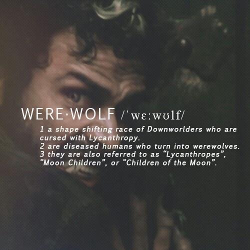 Werewolf   The Mortal Instruments: City of Bones   Book Series by Cassandra Clare   #movie