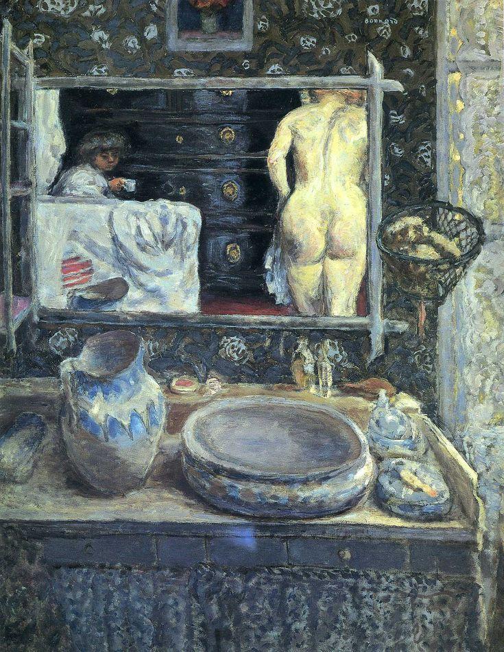 Bonnard - mirror-on-the-wash-stand-1908.jpg (1594×2059)