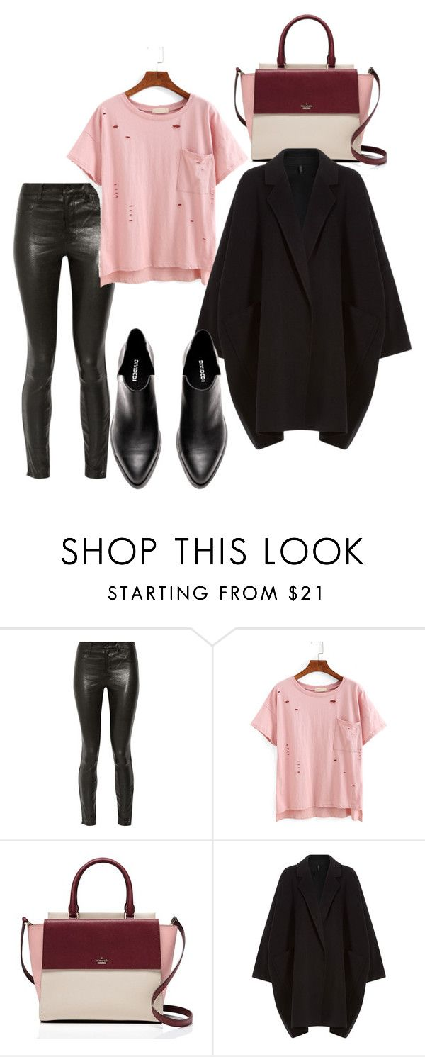 25 by espe-rebollo on Polyvore featuring moda, Helmut Lang, J Brand and Kate Spade