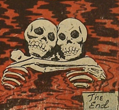 The End Skeletons in Love. Dark. Death. Skeleton L…