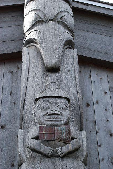 Haida Totem Pole by Ron Caves, via Flickr