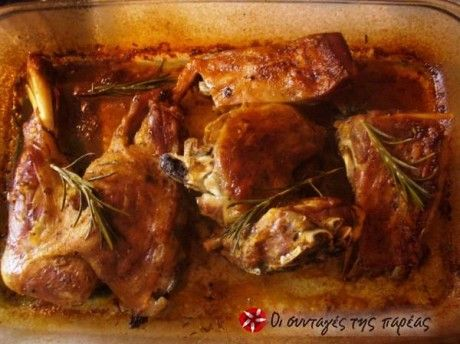 Αρνάκι στο φούρνο αρωματικό