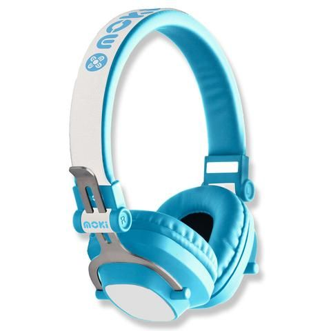 Moki EXO Kids Bluetooth Headphones - Blue - School Depot NZ