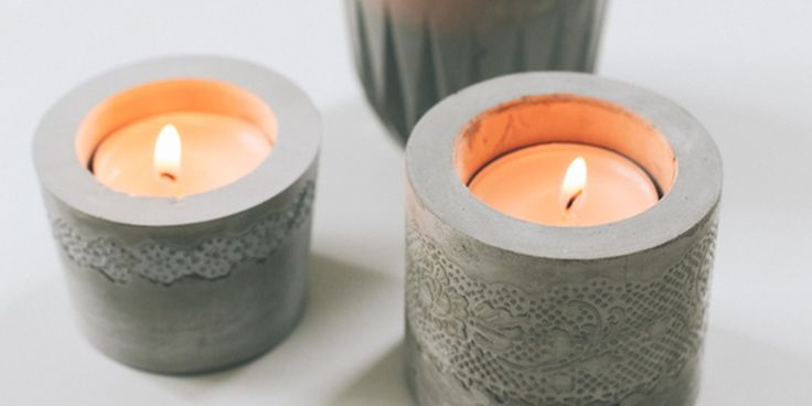 Want to start working with cement? Here are a few easy DIY projects to help you get started this weekend!  Star magnets     Get the full how-to  VIA At Home in Love.  Geo coasters     Get the full how-to  VIA Shelterness.     Lil hearts      Get the full how-to  VIA Blog a la Cart.  Ring...
