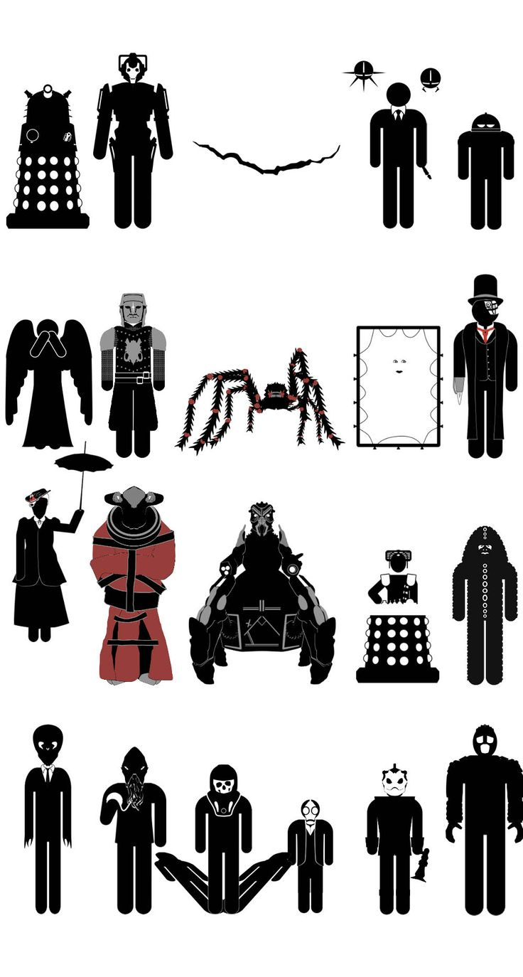 Doctor Who Monsters 2017 Update #drwho #doctorwho #9thdoctor #christophereccleston #11thdoctor #mattsmith #petercapaldi #12thdoctor #davidtennant #10thdoctor #ood #emptychild #dalek #cyberman #themaster #missy #davros #sontaran #silurian #blitzer #weepingangels #icewarriors