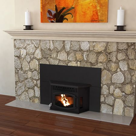 Breckwell Blazer Pellet Stove Insert Fireplaces In 2019