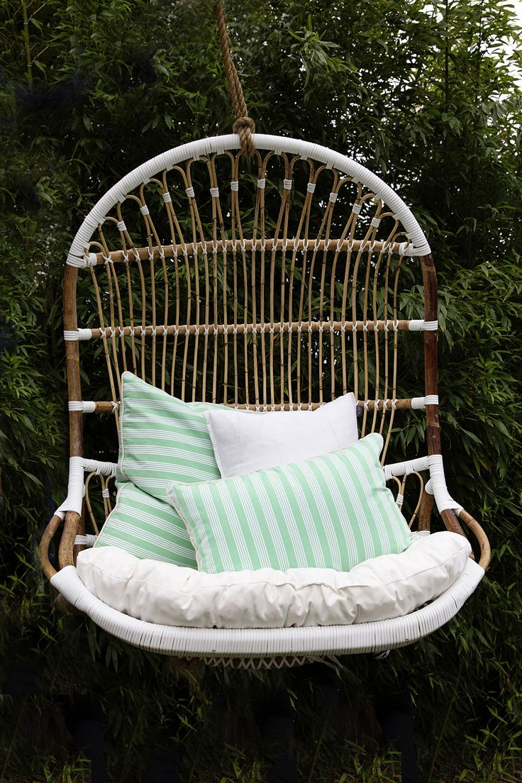 Introducing the latest addition to our range of Hanging Chairs. Pop in the garden or on the patio with a few RG cushions for extra comfort!  www.rgimports.com.au