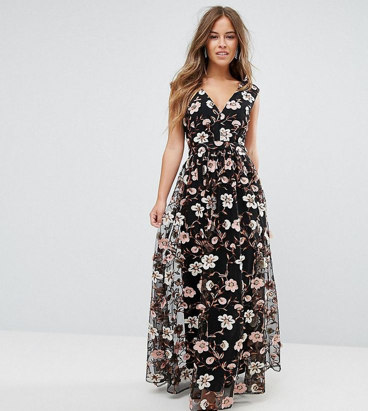 Get this True Decadence Petite's cotton dress now! Click for more details. Worldwide shipping. True Decadence Petite All Over Embroidered V Neck Maxi Dress - Multi: Petite dress by True Decadence Petite, Lined woven fabric, Plunge neck, Floral embroidery, Sequin embellishments, Fitted waistband, Regular fit - true to size, Hand wash, 100% Nylon, Our model wears a UK 8/EU 36/US 4. True Decadence is a trend-led label, who take their influences straight from the catwalk. True Decadence Petite…