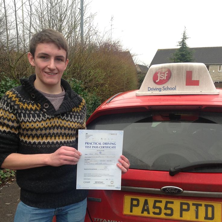 """JSFDriving School has been great. JSF Pete's methods really helped me to remember the techniques he taught me. He gave me great confidence in my driving & helped me when things didn't go quite right."" Great result with a first time pass for Hugh Greaves at Gloucester Test Centre on 12th December, 2016. Well done from all the JSF Team."