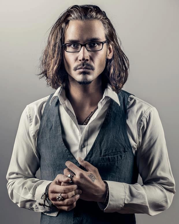 Tom Tubiolo...I freakin' thought this was Johnny Depp?!!! He even looks like a mix of Bloom and Depp...Mind blown!