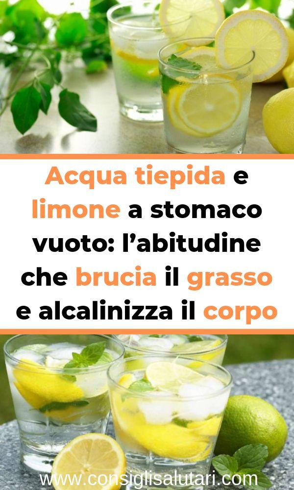 Acqua tiepida e limone a stomaco vuoto: l'abitudine che brucia il grasso e alc…