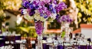 21 Ideas de Decoración de Bodas en color Púrpura Oscuro